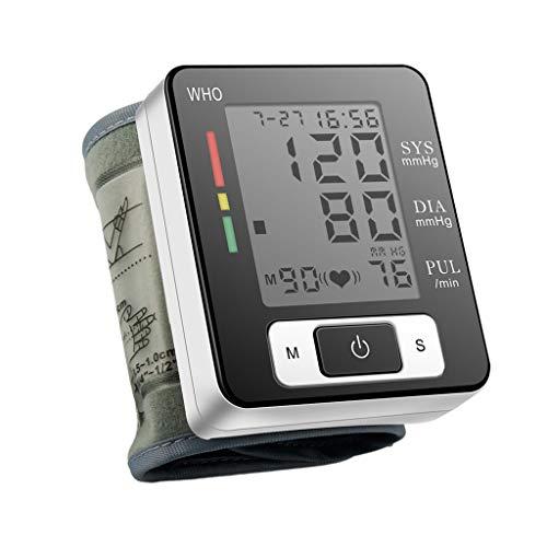 MERIGLARE Tragbarer Automatischer Blutdruckmanschettenmonitor für Das Handgelenk mit
