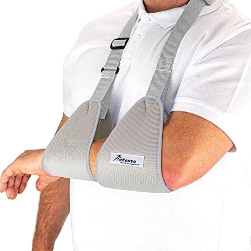 Actesso Gurtband Armschlinge – Ruhigstellung von Arm, Handgelenk und Schulter nach Einer...