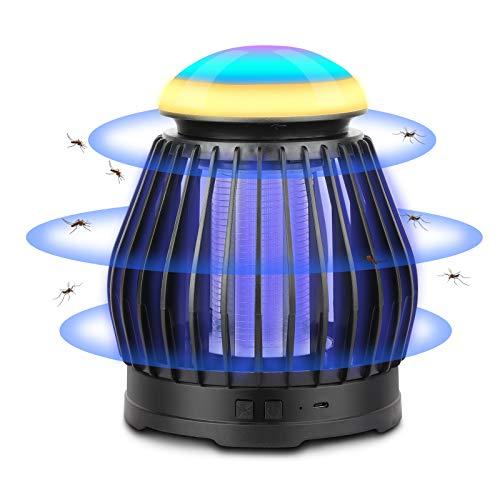 LED Elektrischer Insektenvernichter, Sendowtek Insektenfalle Mückenlampe mit 8 Farben, Keine...