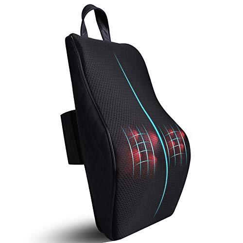 ICETEK Shiatsu Massagekissen, Massagegerät mit Wärmefunktion Elektrische Nackenmassagegerät 3D...