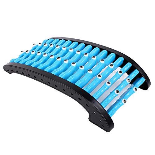 LIUTT Rückendehnung, gewölbter Magnet Rückendehnungs-Massagegerät Wirbelsäulenmassage-Bahre...