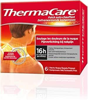 ThermaCare selbstheizendes Patch, für Nacken, Schulter und Handgelenk, lindert Nackenschmerzen, 8...