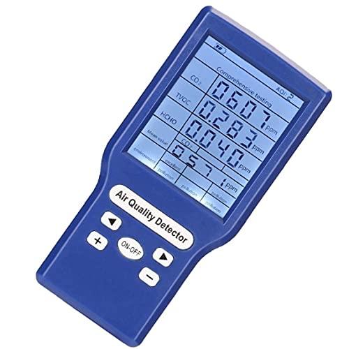 Jorzer Air Quality Meter Tvoc Hcho Co2 Ppm-detektor Mit Hoher Genauigkeit Multifunktionale Tragbare...