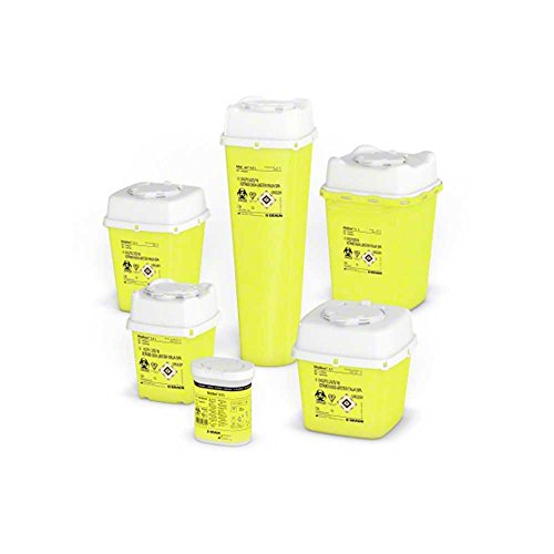 B.Braun Medibox® Entsorgungsbehälter Sammelbehälter Kanülenbehälter Kanülenbox, 0,7 Liter