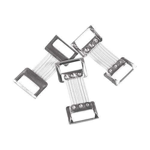 Holthaus Medical Verbandklammern Verband-Klammer, Verband- Clips, Verbandfixierung, weiß, 100St