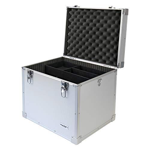 HMF 14802-02 Putzbox, Alu Aufbewahrungsbox, Universalkoffer, 41 x 33 x 36 cm