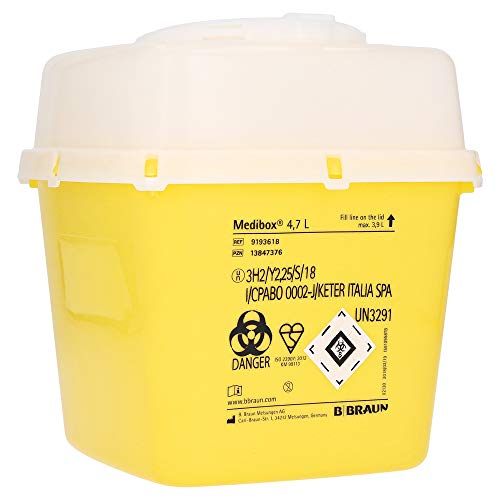 MEDIBOX Entsorgungsbehälter 4,7 l