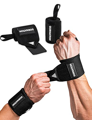 GORNATION®️ Handgelenk-Bandagen | 2X Premium Wrist Wraps (Paar) für Fitness, Calisthenics &...