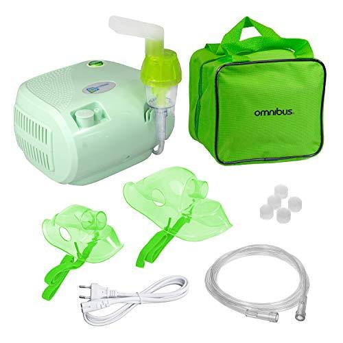 Omnibus BR-CN116B Inhaliergerät Inhalator Aerosol Therapie Vernebler Inhalation Kompressor...