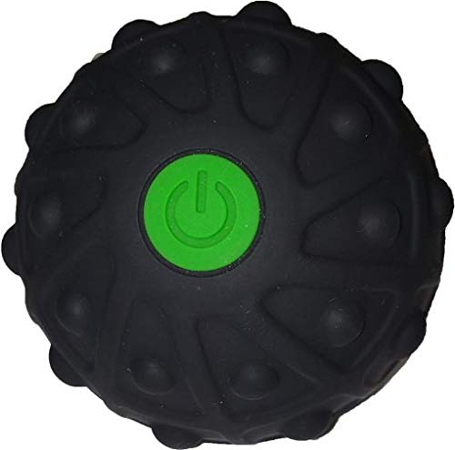 LIVIA Massageball Elektrisch mit Vibration, 2 Intensitätsstufen, Faszienball für Triggerpunkt...