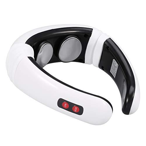 Elektrisches Puls Nackenmassagegerät, Magnettherapie Zervikale Massagegerät, LED-Display Meridian...