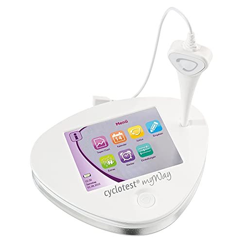 cyclotest myWay Zykluscomputer mit integr. Basalthermometer Kinderwunsch oder hormonfreie Verhütung...