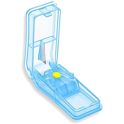 GeekerChip Tablettenteiler,pillenteiler,medikamententeiler,für Große und Kleine...