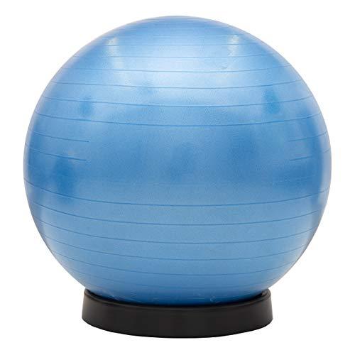maxVitalis Gymnastikball inkl. Ballschale Fitnessball Sitzball Fitness Ball Yogaball Sportball...