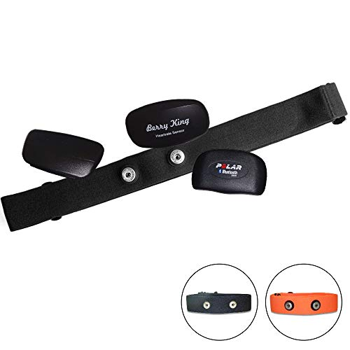 Fitness Prince© F.P. Verstellbarer, elastischer Ersatz Brustgurt für Herzfrequenzmessgerät,...