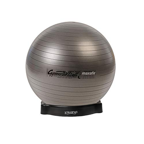 Original Pezzi Pezziball MAXAFE 65 cm m. Ballschale anthrazit Sitzball