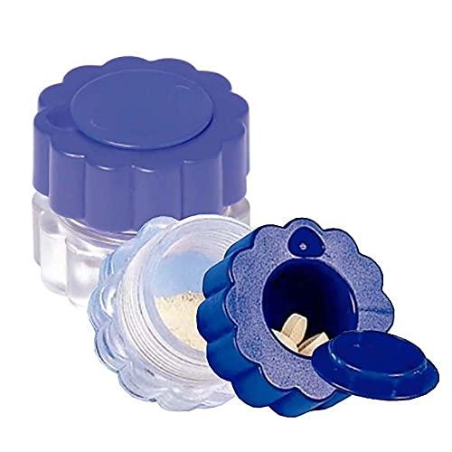 Mobiclinic, Tablettenmörser, Europäische Marke, Tablettenzerkleinerer mit Behälter, mit...