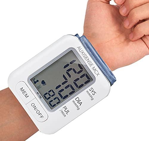 Auxisense MCX II Blutdruckmessgerät für Zuhause Blutdruckmessgerät Handgelenk Blutdruckmessgerät...