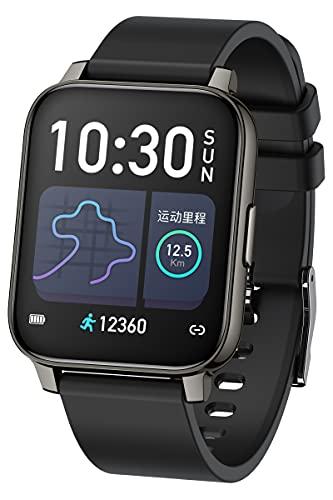 Fitnessuhr Damen, Smartwatch Herren Blutdruck Touchscreen Pulsuhr Sportuhren Schlaf Tracker...
