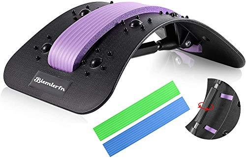 Biemlerfn Rückenstrecker, Rückenmassage, Back Stretcher, Frei einstellbare Rückendehner zur...
