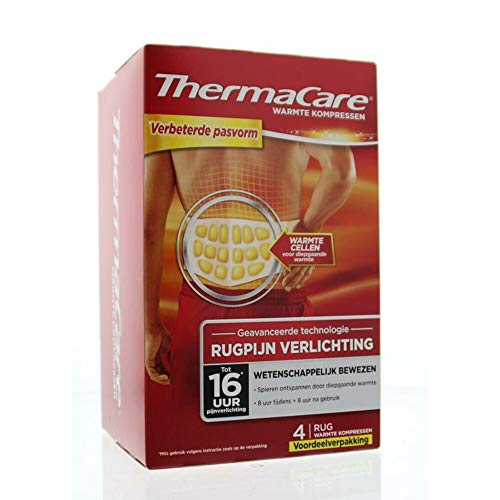 Thermacare Rug 4 stuks S-XL