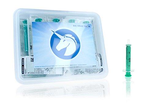 Horn Medical Einmalspritzen Set ohne Kanülen, Hochwertige Marken-Spritzen, einzeln steril verpackt...