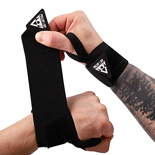 PULLUP & DIP Wrist Wraps Handgelenk Bandagen für Fitness, Calisthenics, Crossfit, Bodybuilding &...