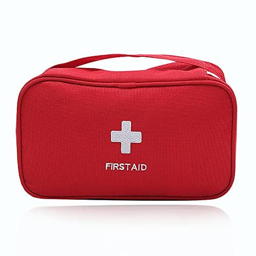 Erste Hilfe Tasche Set Reiseapotheke Tragbare First Aid Kit Große Kapazität Notfalltasche Leer...