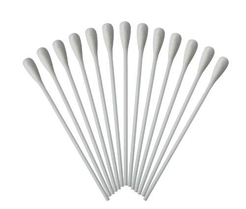 Medizinische Wattestäbchen mit großem Kopf Watteträger PE-Stab 15cm 1000 Stück hygienisch...