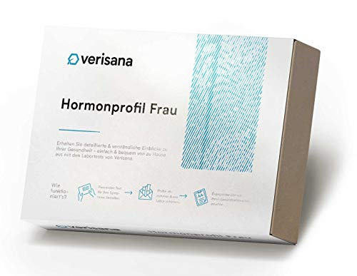 Hormontest für Frauen | Hormonprofil Frau mit Cortisol, DHEA, Östradiol, Testosteron und...