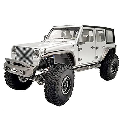 Loads JDMODEL RC Crawler, 1/110 4x4 Metall Ferngesteuert Offroad Auto Modell mit Licht, Hoher und...