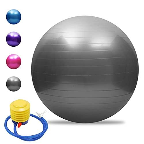 TASJS 45/55/65/75 cm Anti-Burst-Yoga-Kugel, verdickter Stabilitätsbilanzkugel, Fitness-Übungsball,...