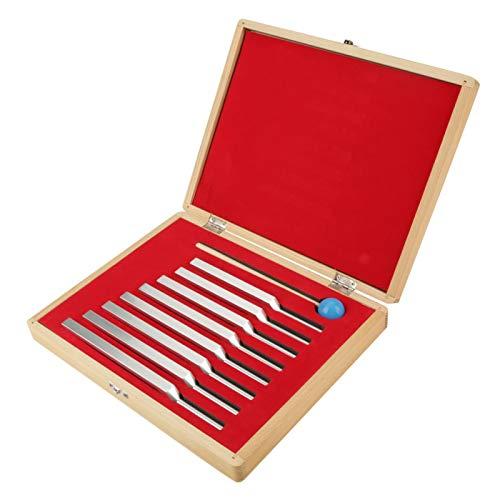 8Pcs Stimmgabeln, Y-Typ Stimmgabel Set Aluminiumlegierung Nichtmagnetische Aluminiumlegierung für...