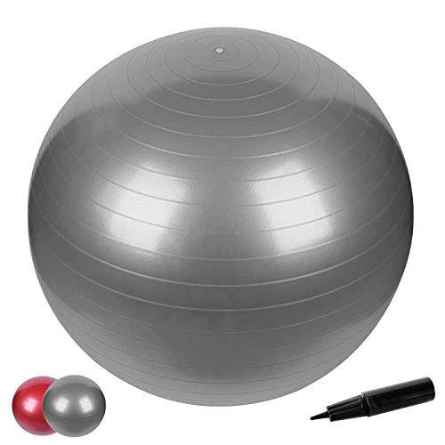 Anti-Burst Gymnastikball in 65cm inkl Pumpe mit Maximalbelastbarkeit bis zu 500kg Core- Sitzball...