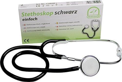 Medi-Inn Flachkopf Stethoskop   ultraleicht, nickelfrei   deutliche Geräuschübertragung  ...