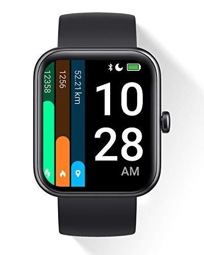 DOOGEE CS2 Pro Smartwatch für Damen Herren mit Alexa 14 Trainingsmodi Fitness Tracker SpO2 1,69...