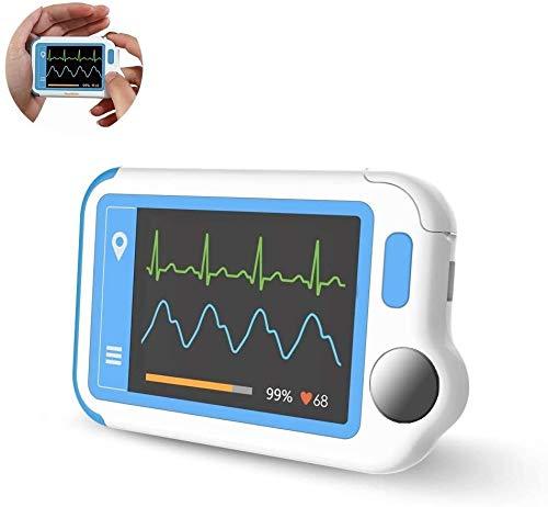 Wellue HeartMate EKG Monitor mit PC-Bericht, Tragbarer EKG Gerät für Vorhofflimmern,...