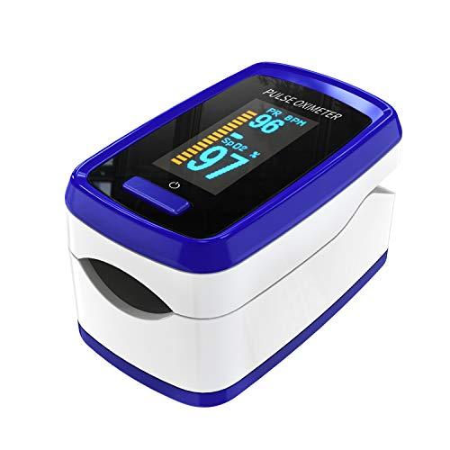 Pulsoximeter für Finger Sauerstoff-Messgerät Finger-Messgerät misst Sauerstoffsättigung...