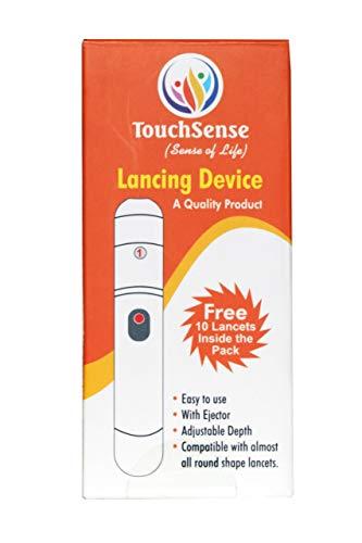 Touch sense Stechhilfe mit 10 Lanzetten Größe (30 g)