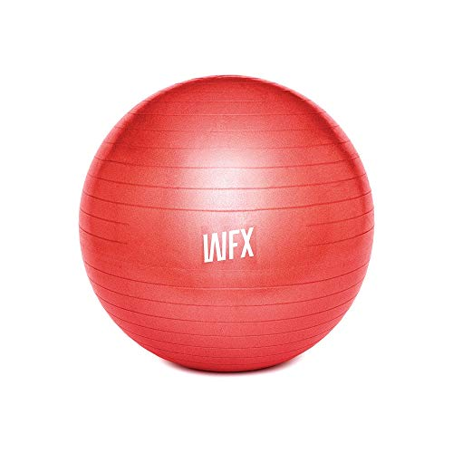 #DoYourFitness Gymnastikball + Luftpumpe - Sitzball in 65cm - 75cm & 85cm - Sicherer Anti Burst Ball...