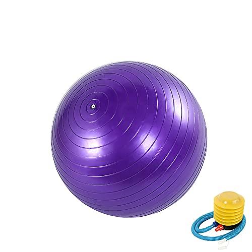 Gymnastikball Anti-Burst Pilates Ball Sitzball Dicker Yoga Ball Gymnastic Ball Balance Ball mit...