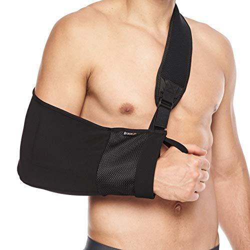 BraceUP® Armschlinge bei Schulterverletzungen, Tennisarm, gebrochenem Arm, nach Handgelenk- und...
