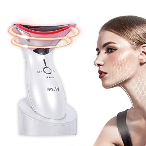 Ms.W Heiß kalt Gesichts Massagegerät Schönheit Gerät,Sonic Anti-Falten Hautpflege...