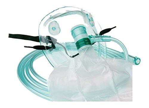 Sauerstoffmasken im Set TIGA MED Hohe Konzentration DEHP-frei 10er Set (= 10 Stück) mit...
