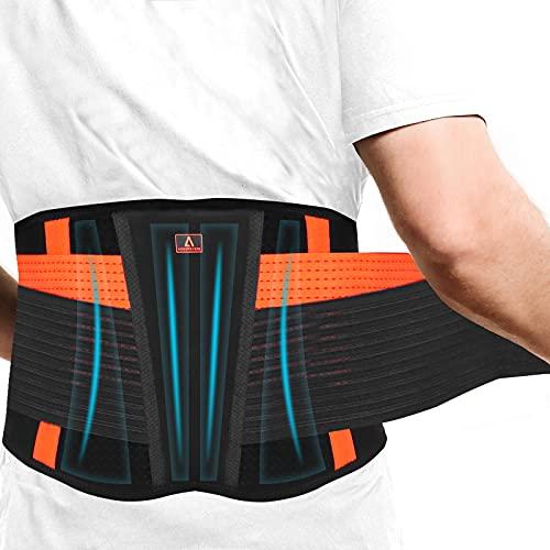 Rückenbandage mit Verstellbare Zuggurte, Anoopsyche Rückengurt für die Lendenwirbel,...