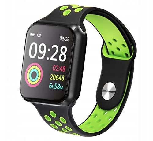 Cracksin Smartwatch Armbanduhr mit personalisiertem Bildschirm Kompatibel mit Android iOS, Sportuhr...