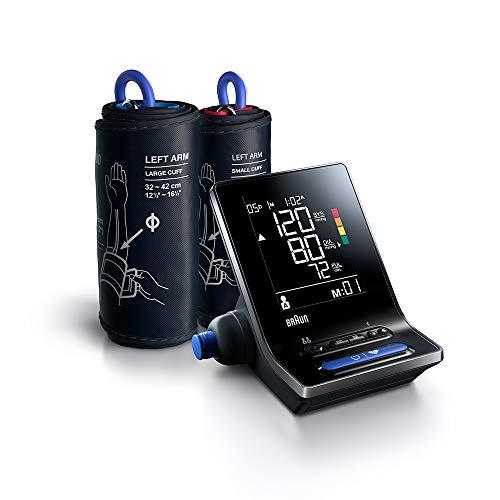 Braun ExactFit 5 Connect Intelligentes Blutdruckmessgerät (klinische Genauigkeit, Bluetooth,...