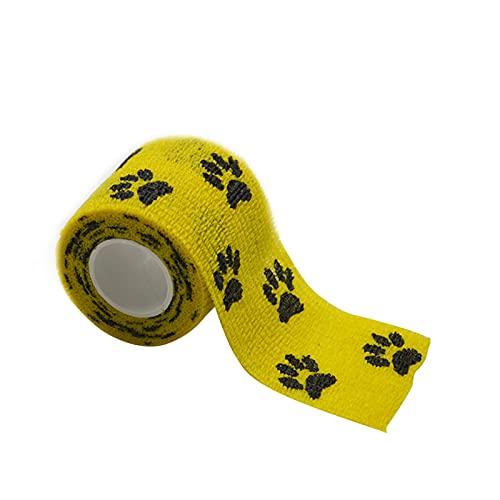 Bandage, Selbstklebende Bandage, Feste Bandage, Elastische Bandage, Für Hundepfote...