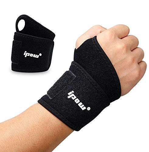 ipow [ 2er Set Handgelenkbandage Handgelenkstütze verstellbare atmungsaktive Handgelenk...