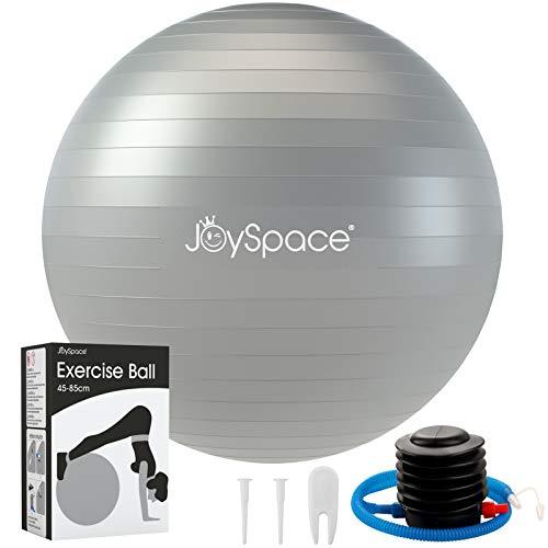 JOYSPACE Gymnastikball 65cm Sitzball Extra Dicker Yoga-Ball-Stuhl Anti-Berst-Stabilitätsball...